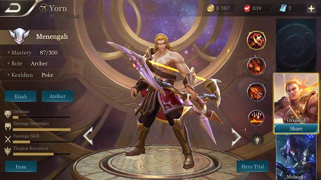 Hero archer AOV termasuk class hero favorit yang banyak di pilih oleh para player AOV 7 Hero Archer AOV Menyakitkan - Tembakannya Perih Versi Sipengguna.Net