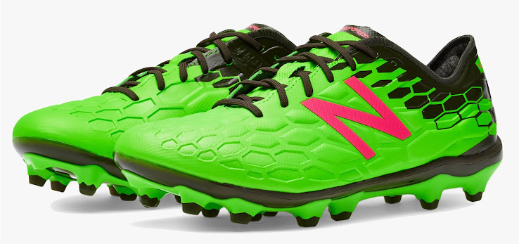 2b548a087 Bold Green   Pink New Balance Visaro 2 2017-2018 Boots Released ...