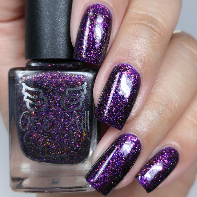 Grace-Full Nail Polish - Flakie Femme Fatale