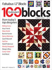 Quiltmaker's 100 Blocks volume 16