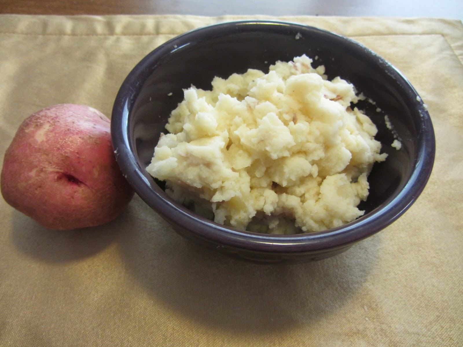 Mashed Potatoes and Crafts: Don't Peel the Potatoes!