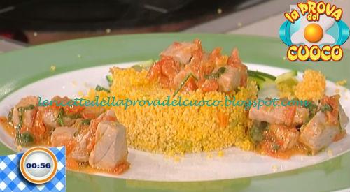 Cous cous al limone con tonno alla matalotta ricetta Piparo da Prova del Cuoco