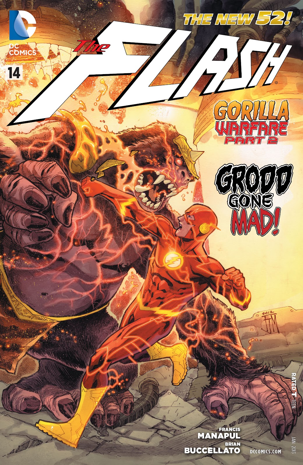 The Flash (2011) issue 14 - Page 1