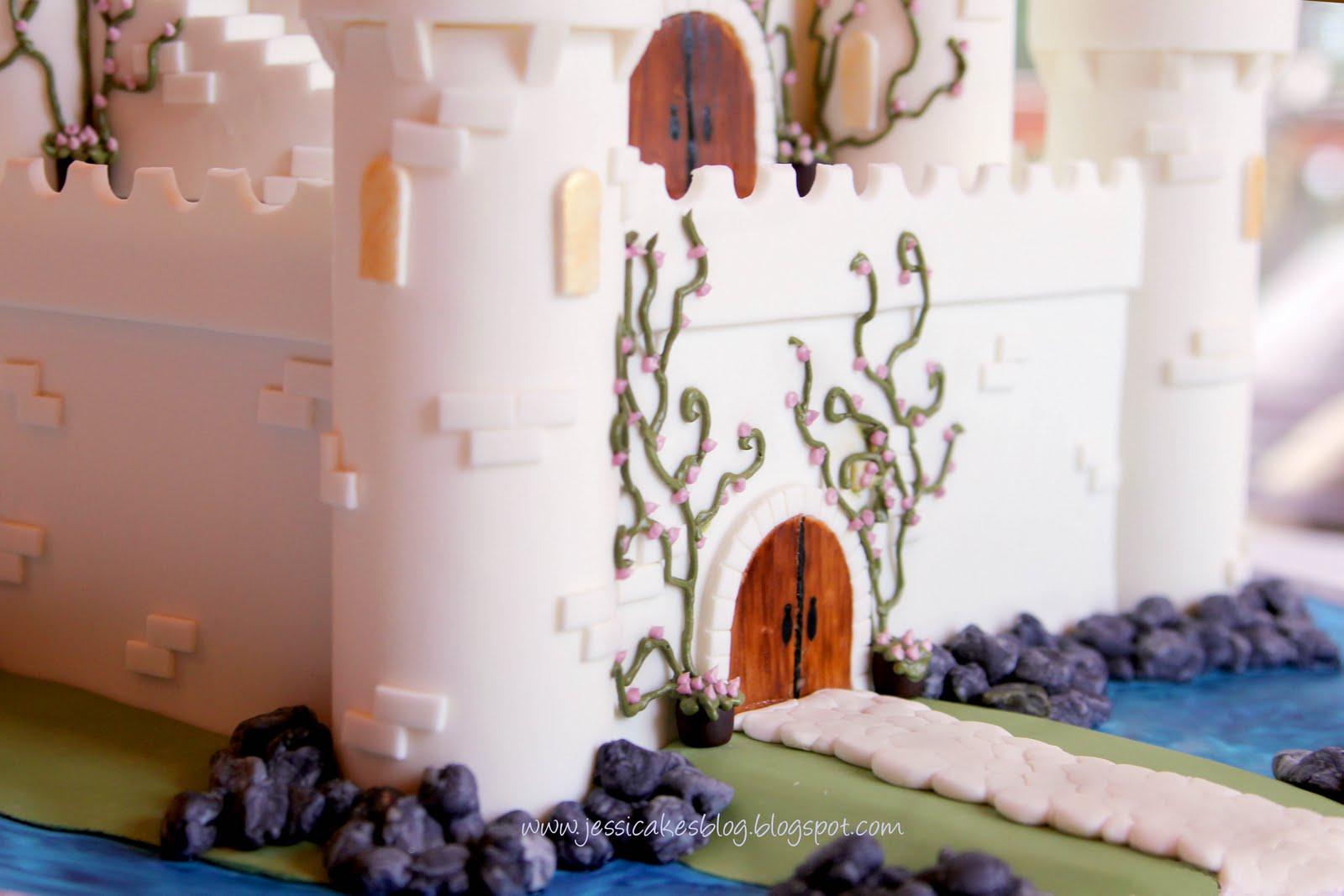 The Castle Cake Jessica Harris Cake Design