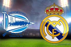 موعد وتوقيت مباراة  ريال مدريد وديبورتيفو ألافيس في الدوري الإسباني والقنوات المجانية النقالة للمباراة مجاناً