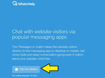Cara Pasang Pintasan Chat Medsos di Blog Tanpa Koding