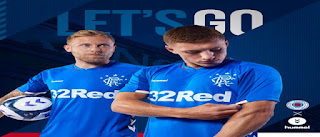 Rangers Football Club Shirt