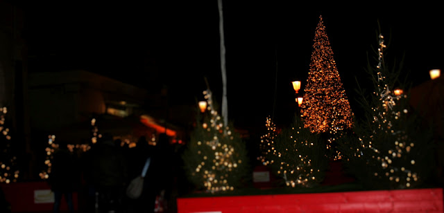 alberi, Natale 2017, luci, luminarie, alberi di Natale, piazza del Ferrarese Bari
