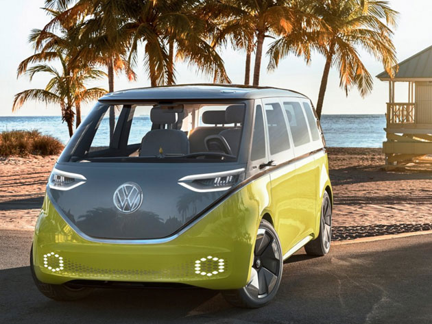 Electric Microbus, Volkswagen ID Buzz Concept