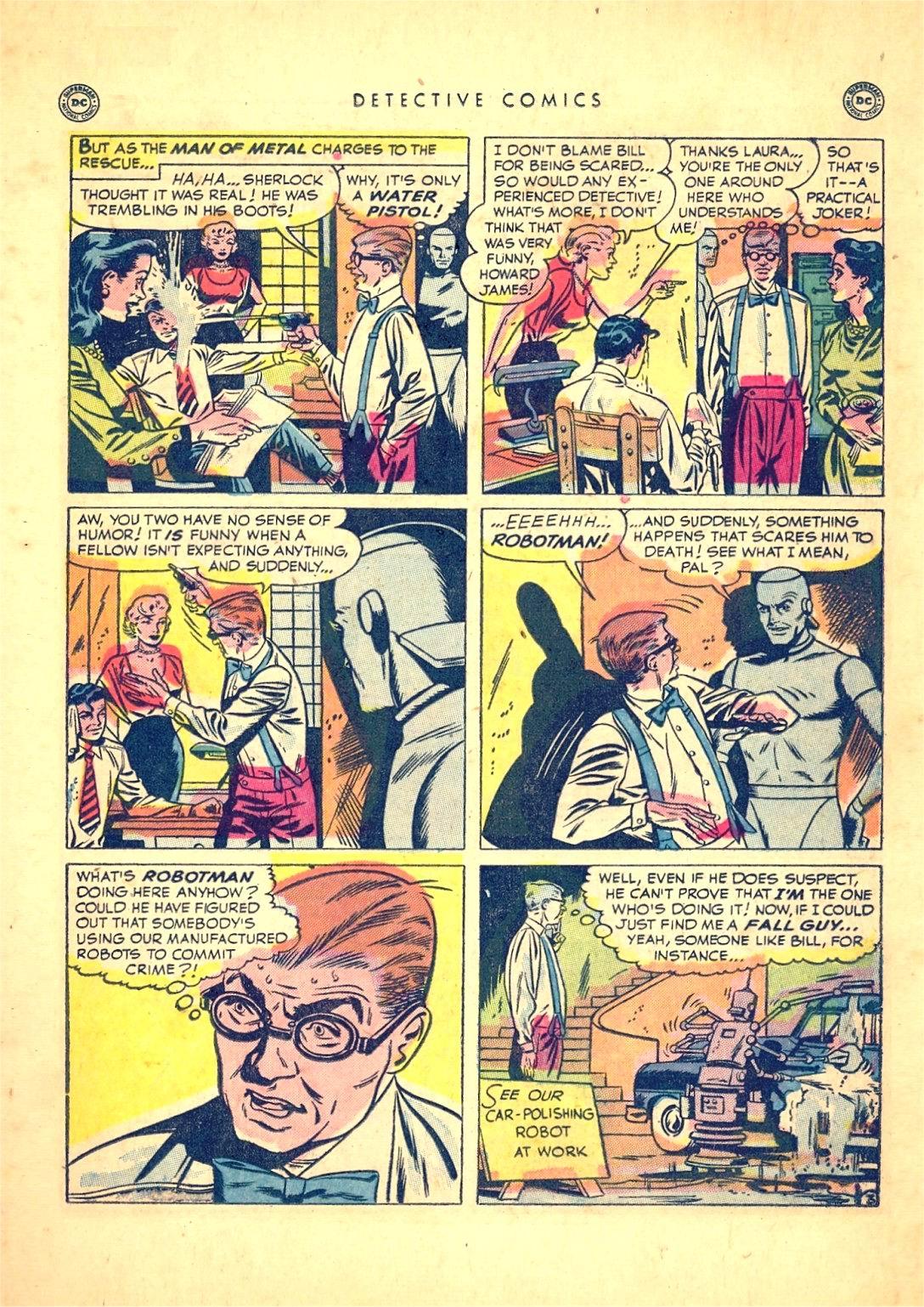 Read online Detective Comics (1937) comic -  Issue #166 - 29