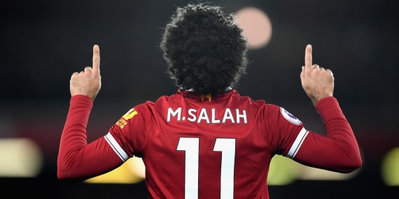 Mohamed Salah Liverpool striker