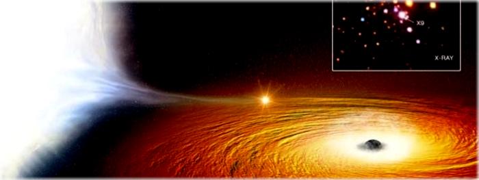 descoberta a estrela mais próxima de um buraco negro