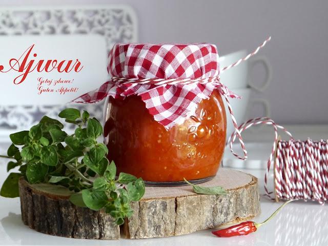 Ajwar - pasta z pieczonej papryki i bakłażana - Czytaj więcej »