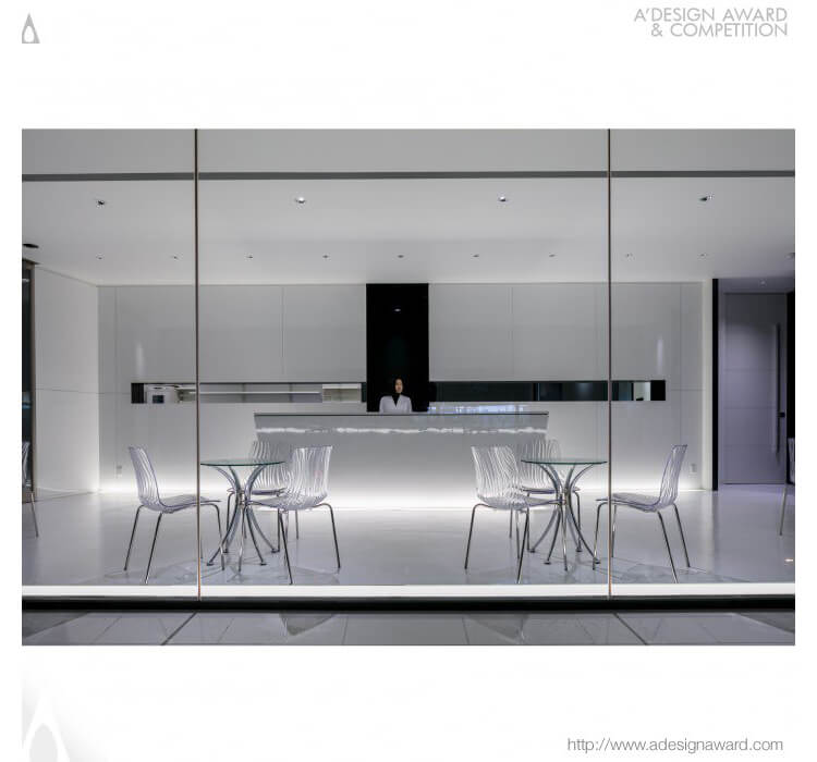 Design Award -  The Cutting Edge Pharmacy Dispensing Pharmacy by Tetsuya Matsumoto