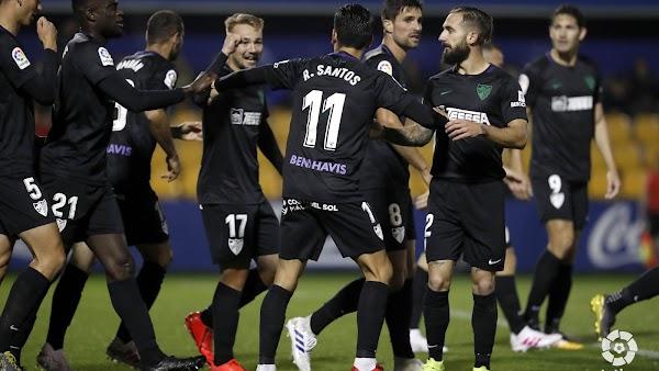 El Málaga descansa hasta el lunes