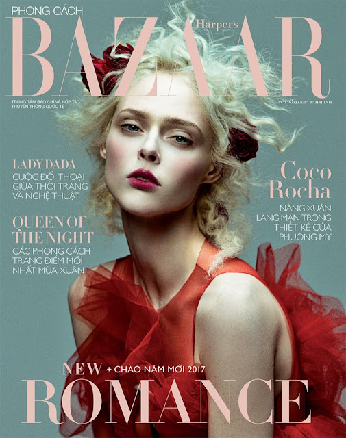 Coco Rocha for Harpers Bazaar Vietnam by Zhang Jingna, styling Phoung My