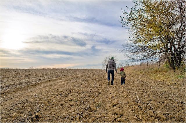 Dzień Ojca- wspólny spacer