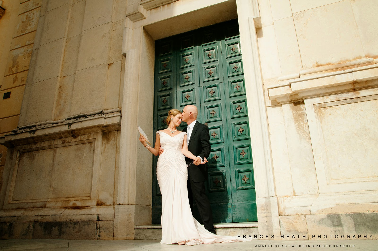 Wedding portrait in Positano Italy