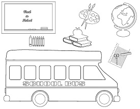 Catholic Faith Education: Back to School Coloring Pages