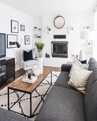 decor home modern for apartment