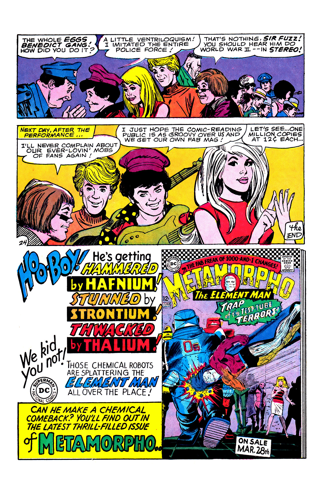 Read online Showcase comic -  Issue #68 - 32