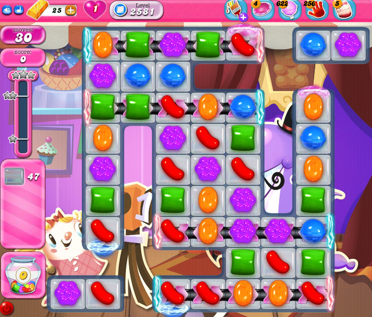 Candy Crush Saga level 2581