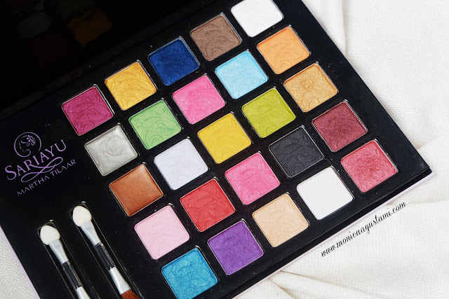 Sariayu Palette Eyeshadow 25th