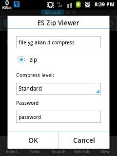 Install ES File Explorer apk