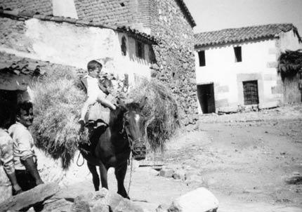 La España rural en los años 50