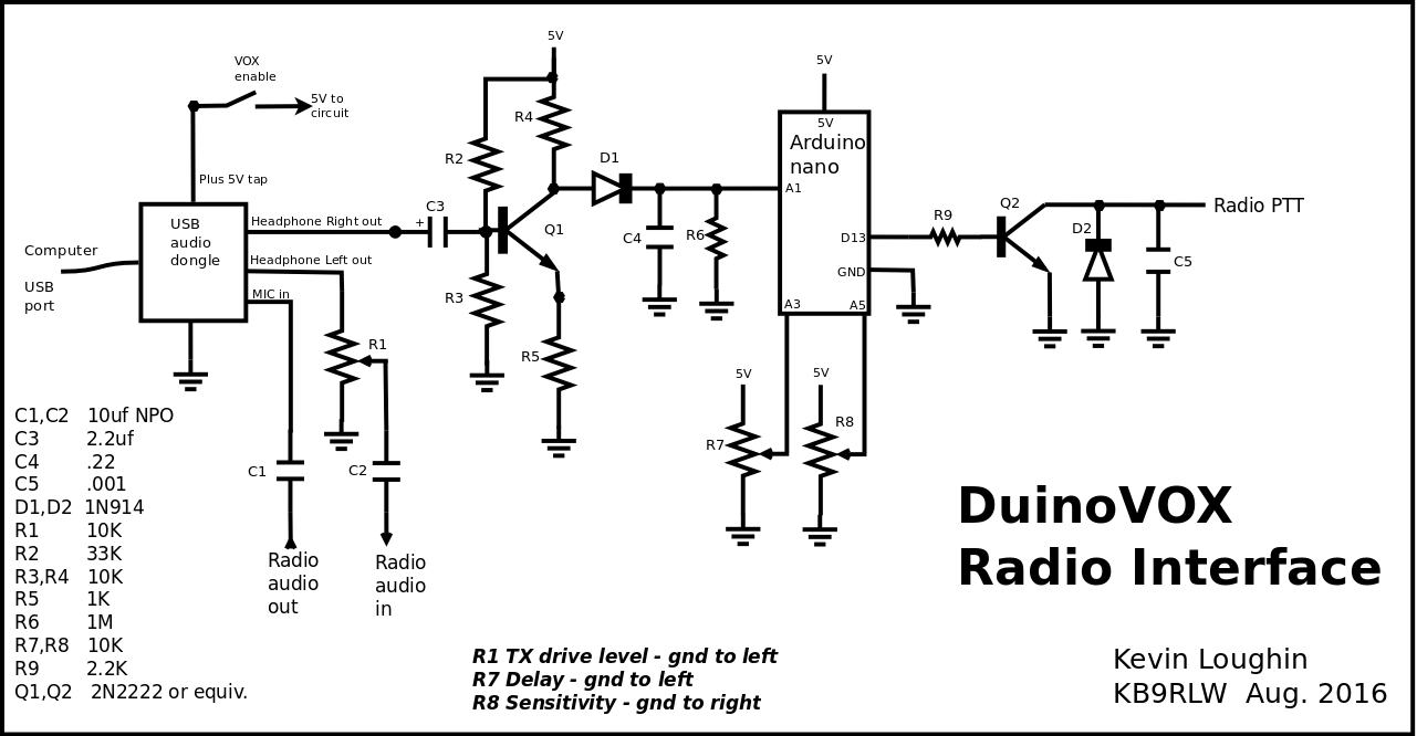 duinovox schematic question