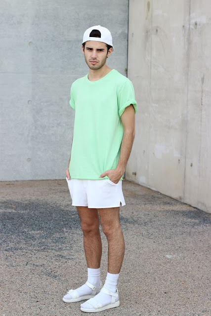 Look masculino com meias