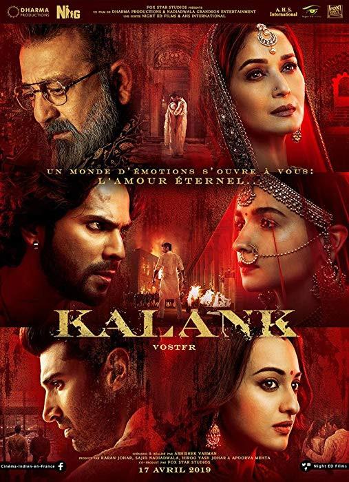 Kalank 2019 Hindi 480p WEB HDRip 500Mb x264