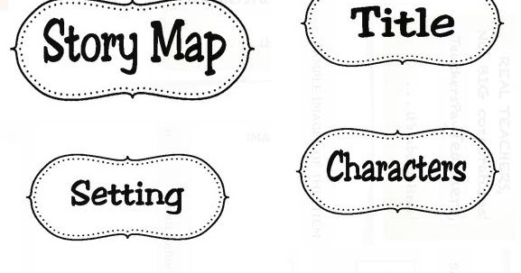 Classroom Freebies Too: Story Map Labels