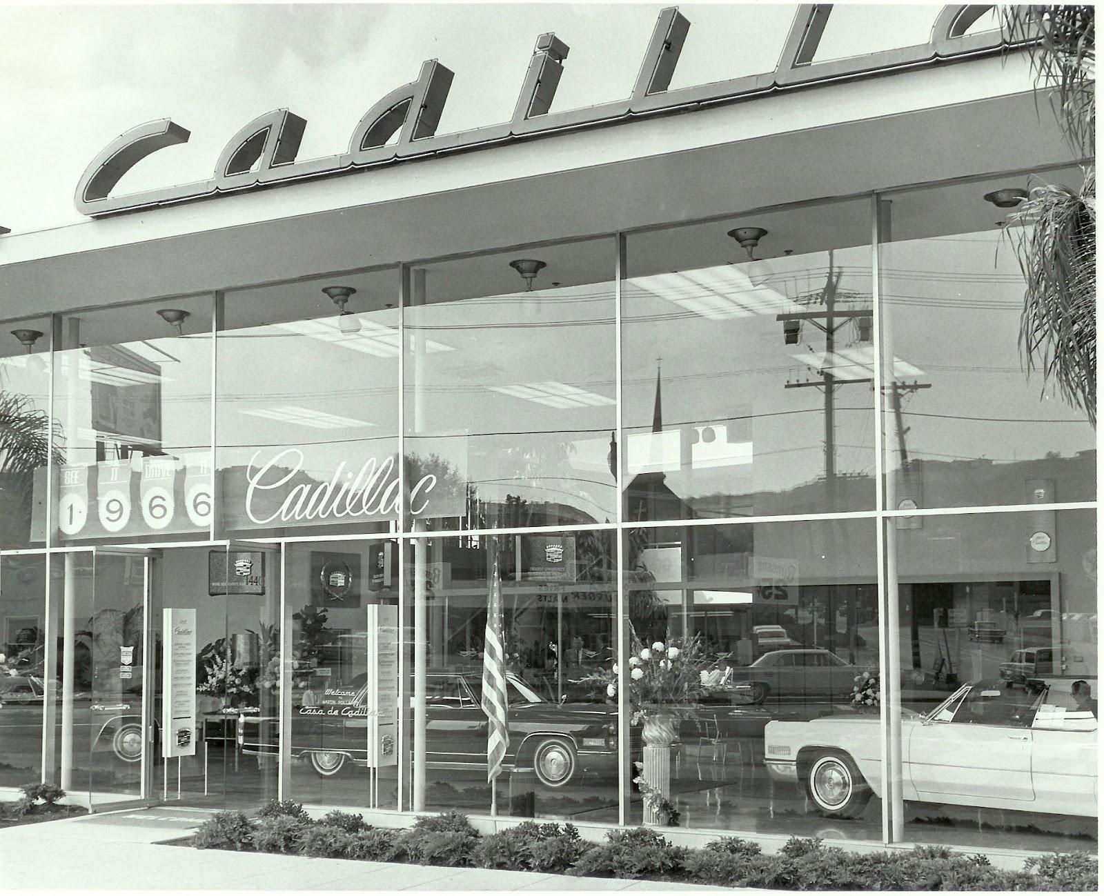 Casa De Cadillac >> Palm Springs Automobilist Casa De Cadillac A Mid Century