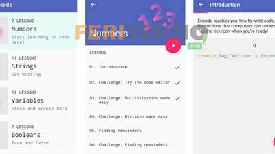 aplikasi untuk belajar coding 2