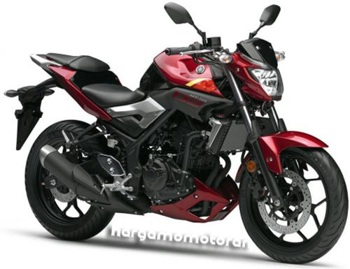 Harga Motor Yamaha MT 15