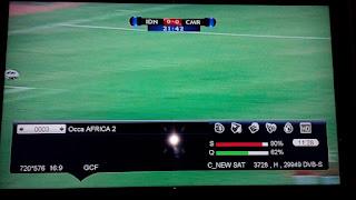 Occa AFRICA Eutelsat 5°W