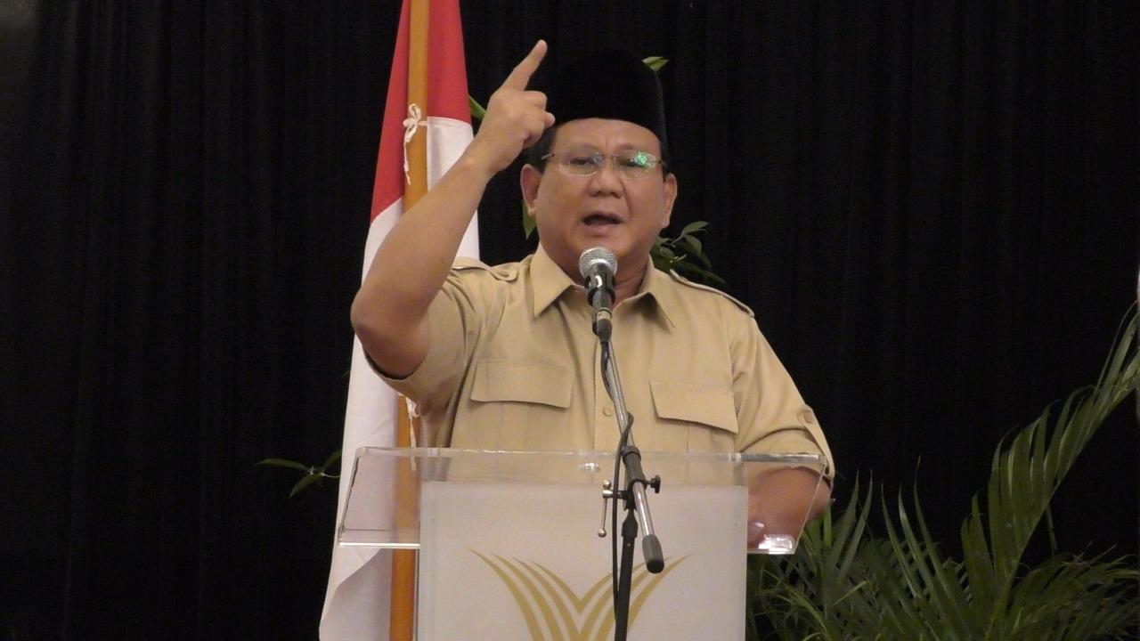 Diremehkan Survei, Ini Komentar Telak Prabowo Subianto