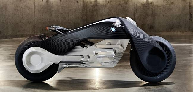 BMW Reveals Motorrad Vision Next 100 Motorcycle Concept