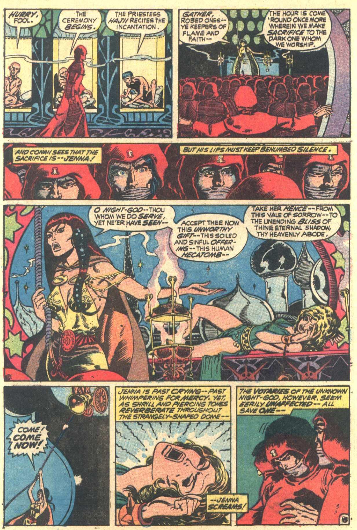 Conan the Barbarian (1970) Issue #6 #18 - English 14