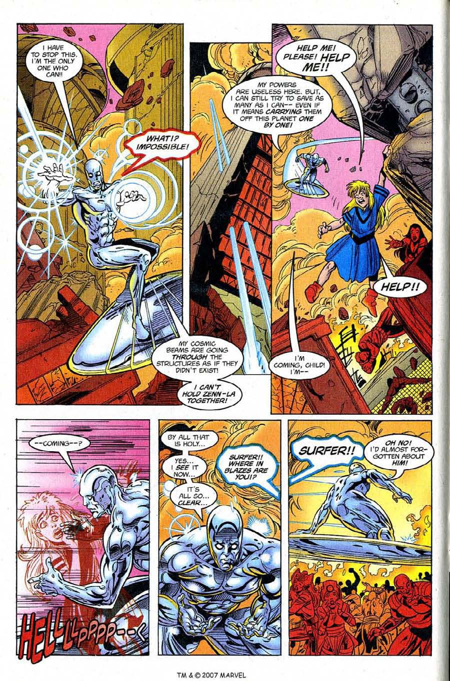Silver Surfer (1987) Issue #122 #130 - English 12