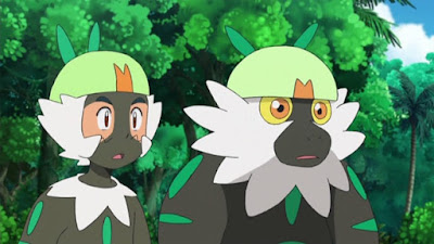 Pokemon Sol y Luna Capitulo 64 Temporada 20 Satoshi y Passimian, un touchdown de amistad