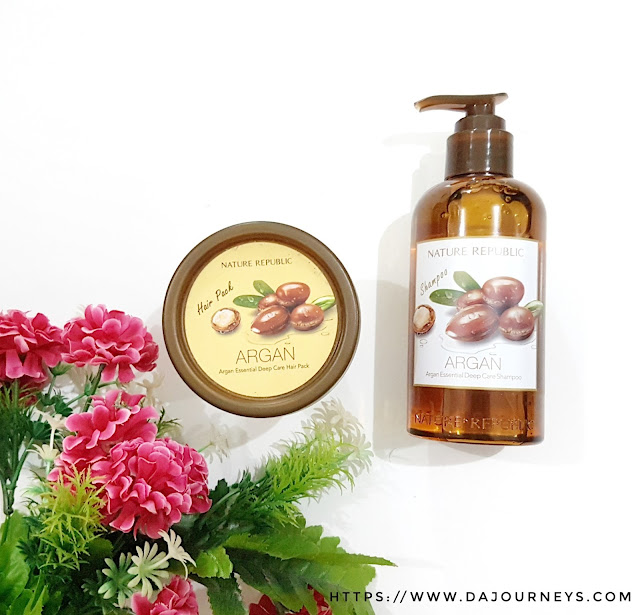 [Review] Nature Republic Argan Essential Deep Care Series