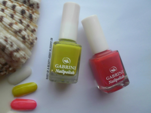 Gabrini Nail Polish 319 & 323: Review, Swatch & Nail Art