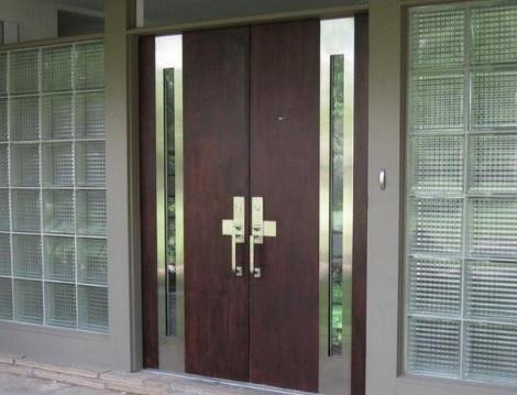 model pintu minimalis elegan