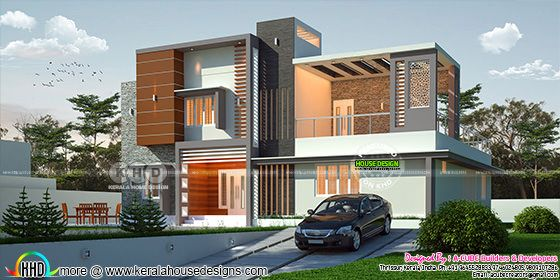 4 bedroom contemporary style 3108 sq-ft home