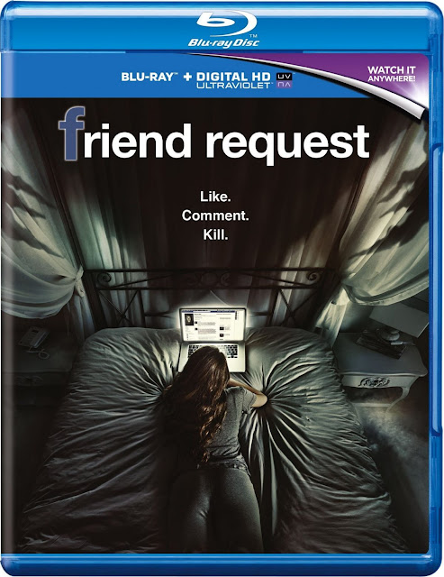 Friend Request 2016 Dual Audio BRRip 160mb Mobile HEVC