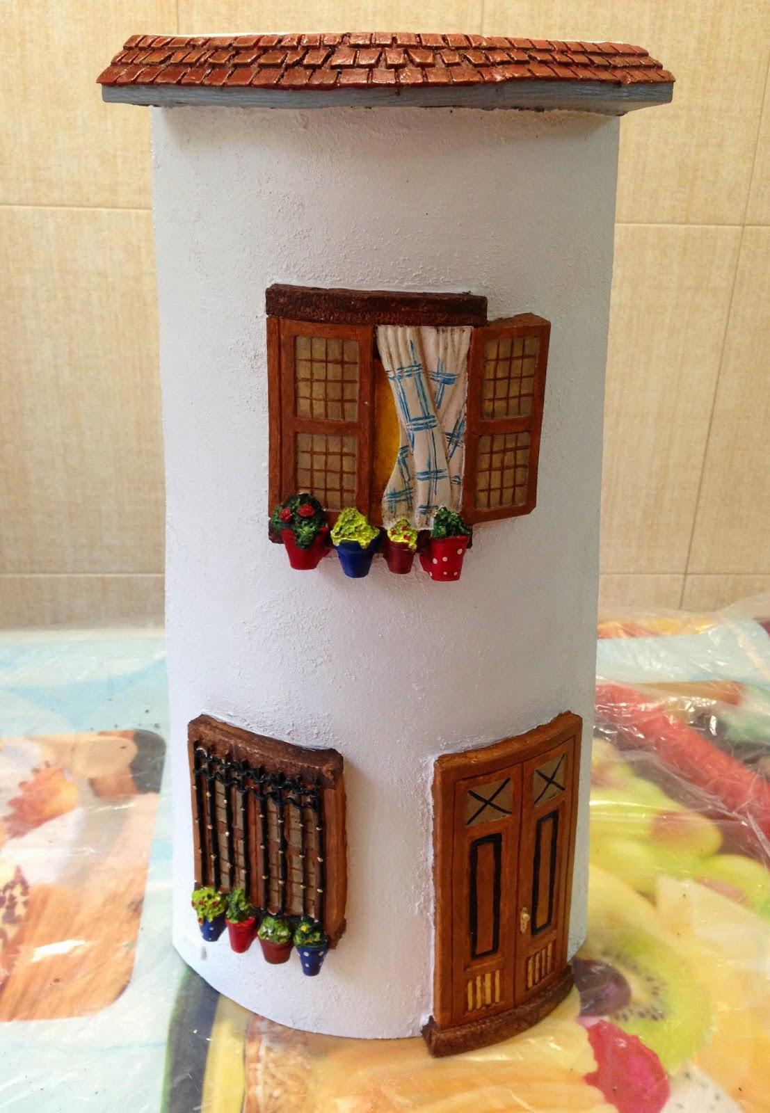 Las manualidades de yiya preparando regalos hechos a mano for Casa regalo