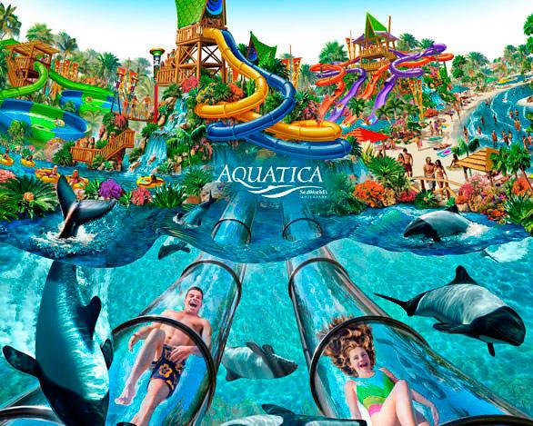 Parque Aquatica em Orlando