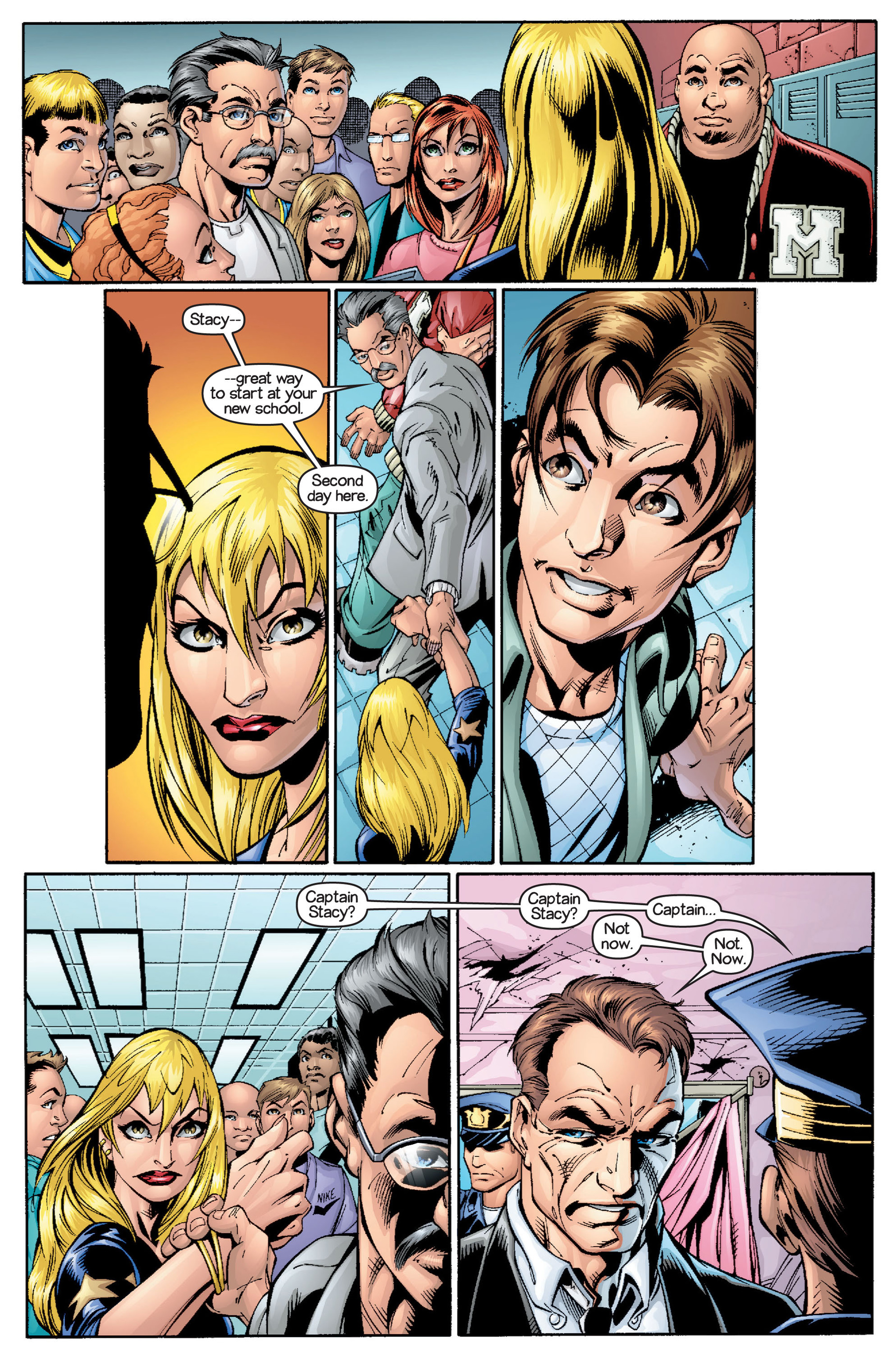 Read online Ultimate Spider-Man (2000) comic -  Issue #15 - 13